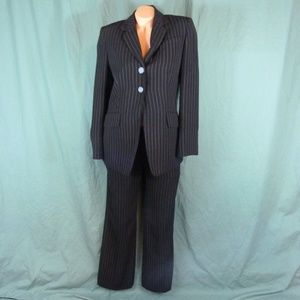 Travis Ayers 2 Piece Pant Suit Size 6 Career Blk